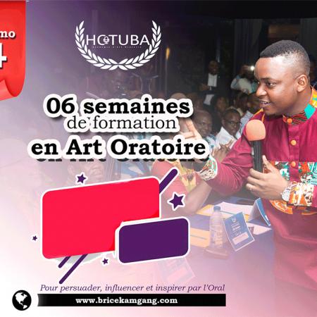HOTUBA: MAITRISER L'ART ORATOIRE